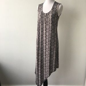 Rachel Roy Size S Patterned Maxi Dress